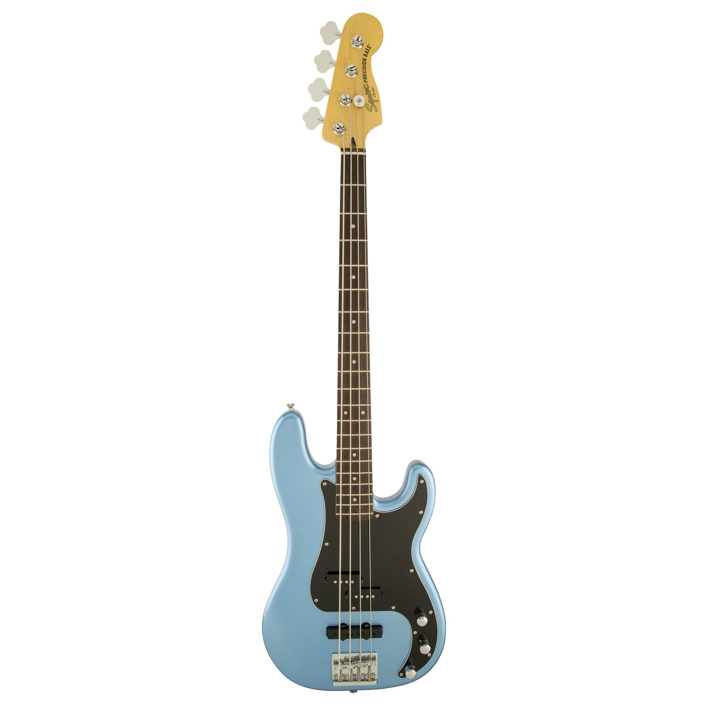 squier vintage modified precision bass pj lake placid blue giggear. Black Bedroom Furniture Sets. Home Design Ideas