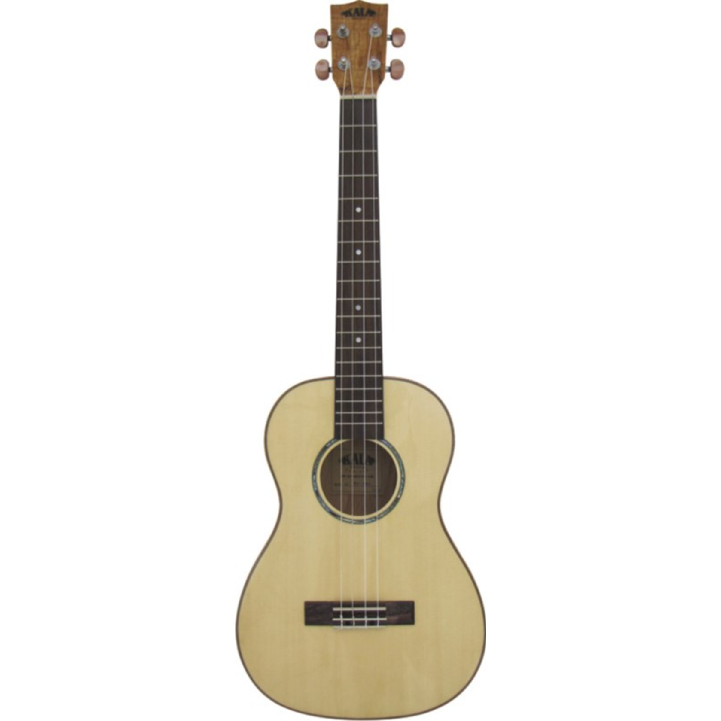 folk kala flame maple series ka fmb baritone ukulele giggear. Black Bedroom Furniture Sets. Home Design Ideas
