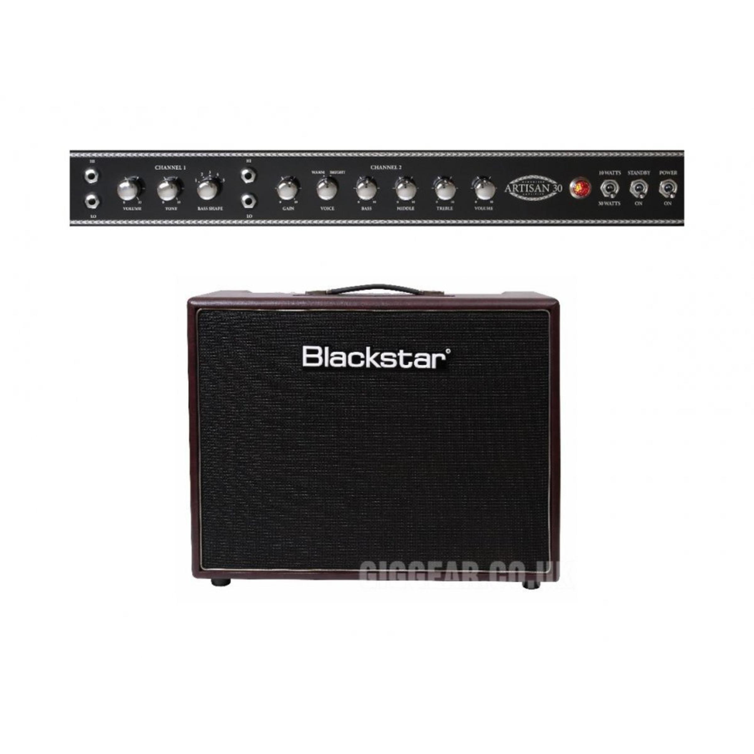 blackstar artisan 30 hand wired guitar valve combo giggear. Black Bedroom Furniture Sets. Home Design Ideas
