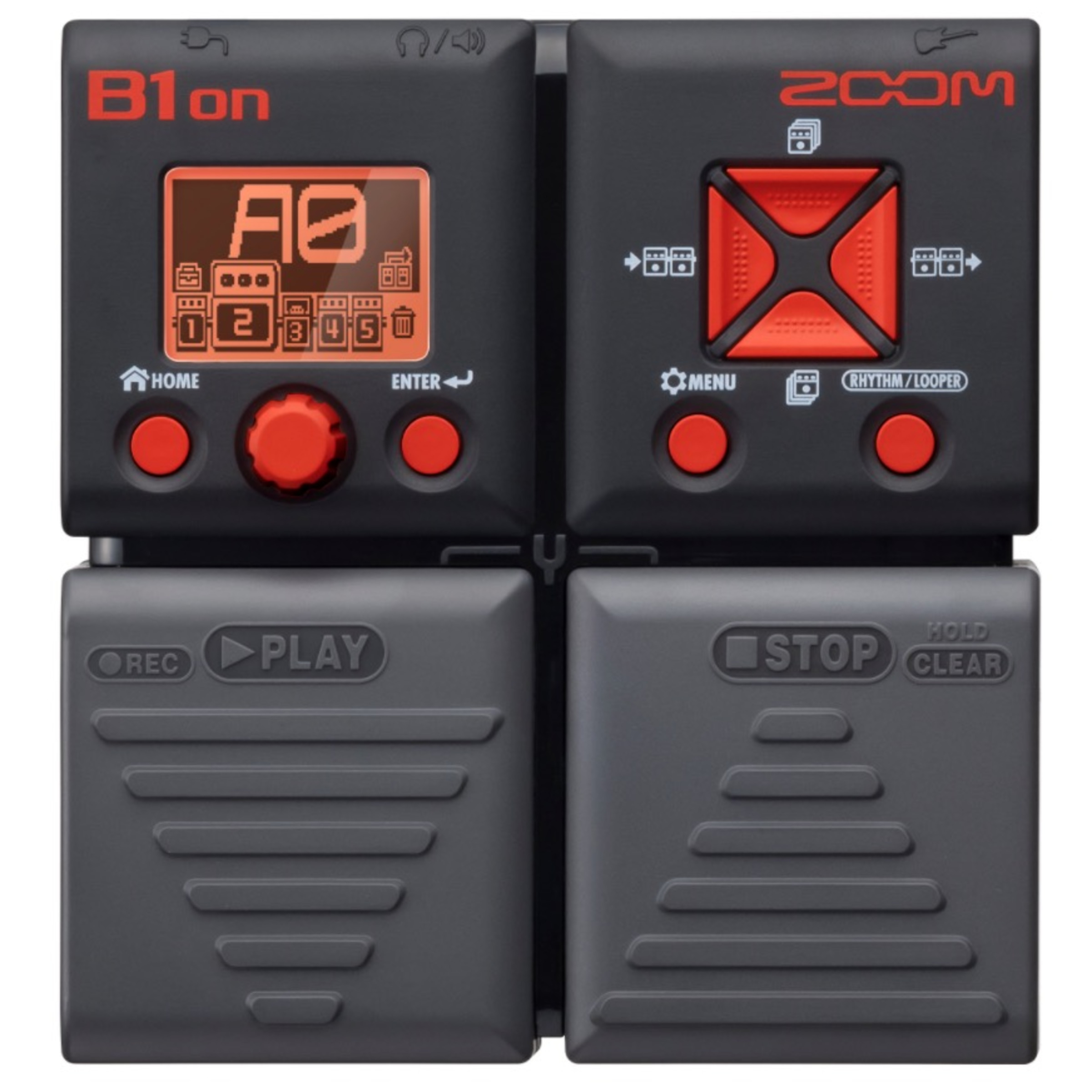 zoom b1on bass guitar multi effects pedal giggear. Black Bedroom Furniture Sets. Home Design Ideas