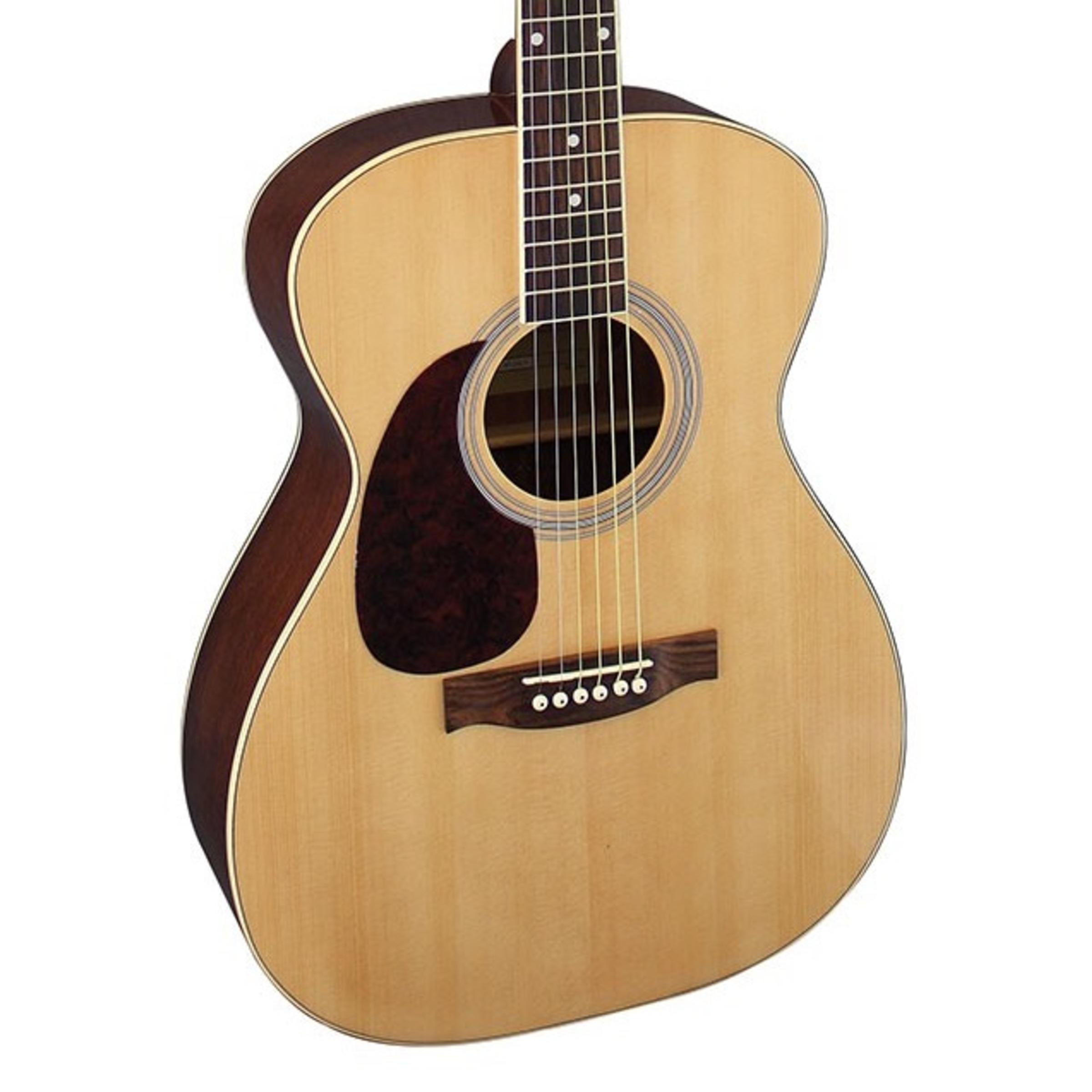 brunswick bfl200 left handed acoustic guitar natural giggear. Black Bedroom Furniture Sets. Home Design Ideas