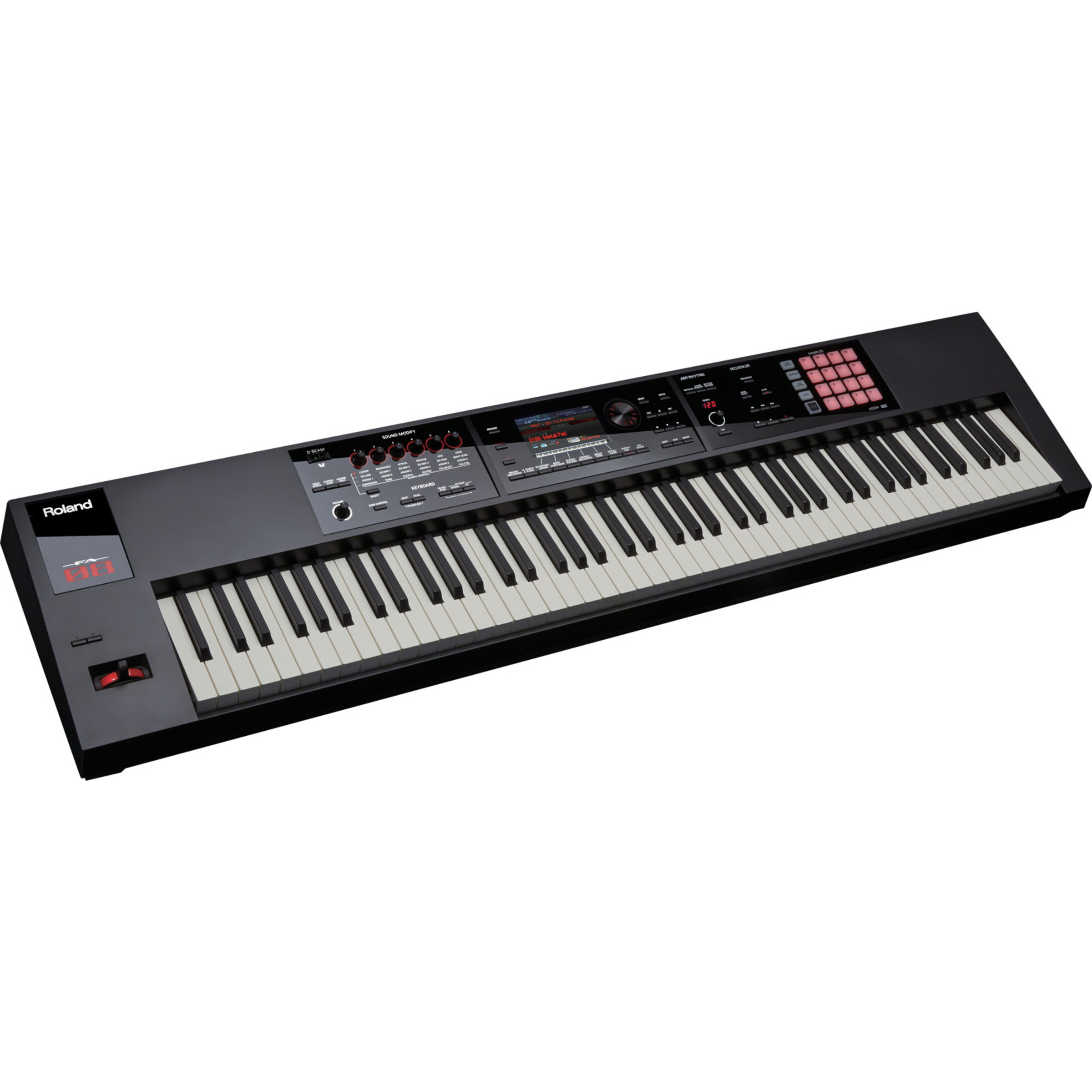 roland fa08 88 note weighted keyboard giggear. Black Bedroom Furniture Sets. Home Design Ideas