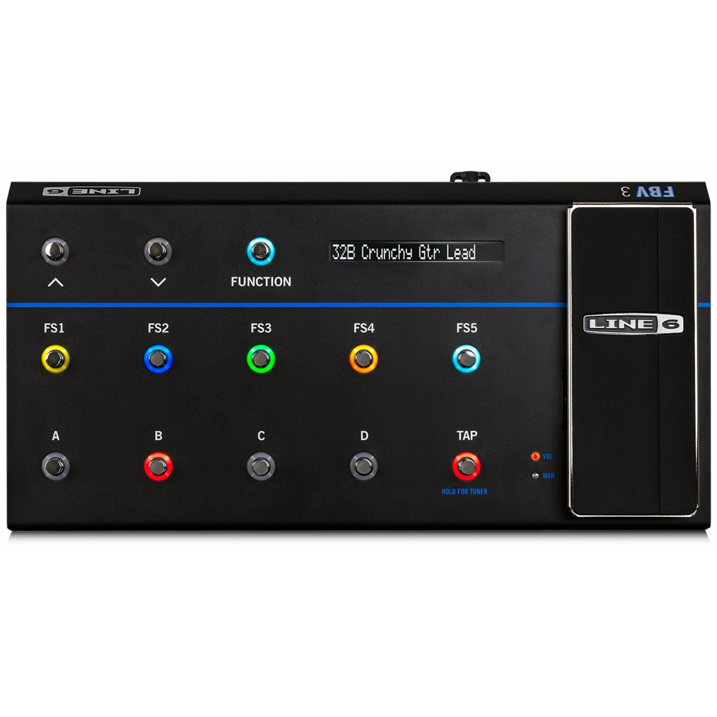 line 6 fbv3 floor controller for line 6 amps effects giggear. Black Bedroom Furniture Sets. Home Design Ideas