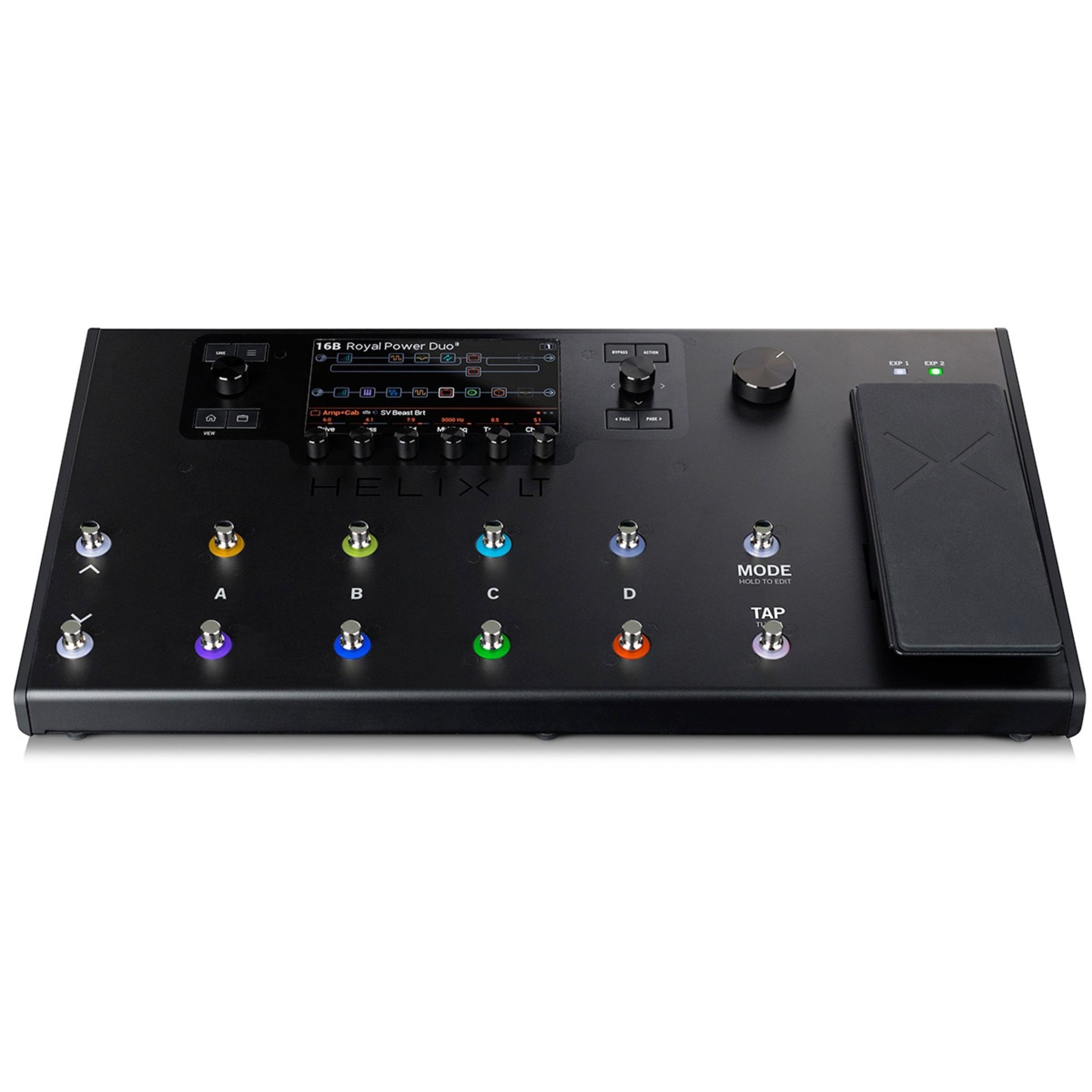 line 6 helix lt floor guitar effects pedal giggear. Black Bedroom Furniture Sets. Home Design Ideas