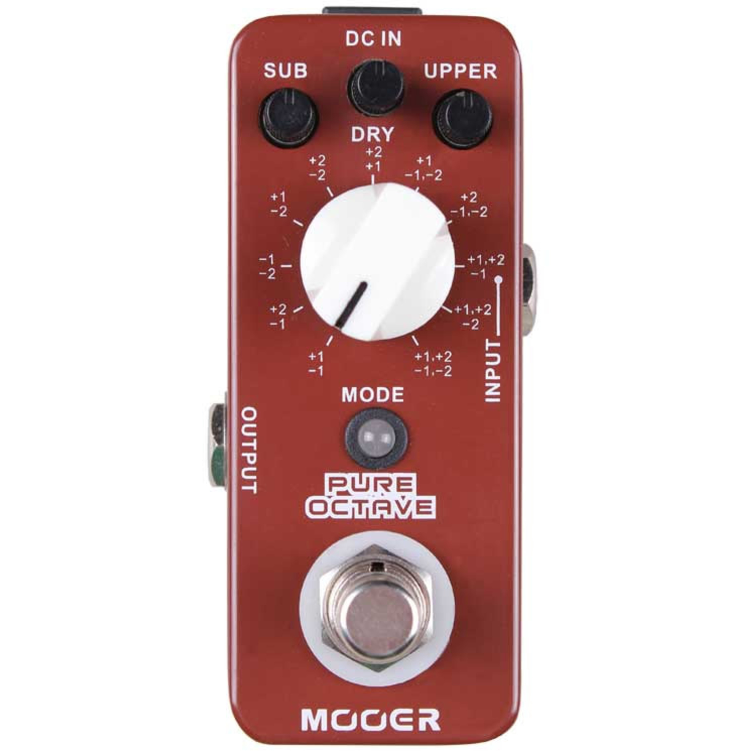 mooer pure octave pedal giggear