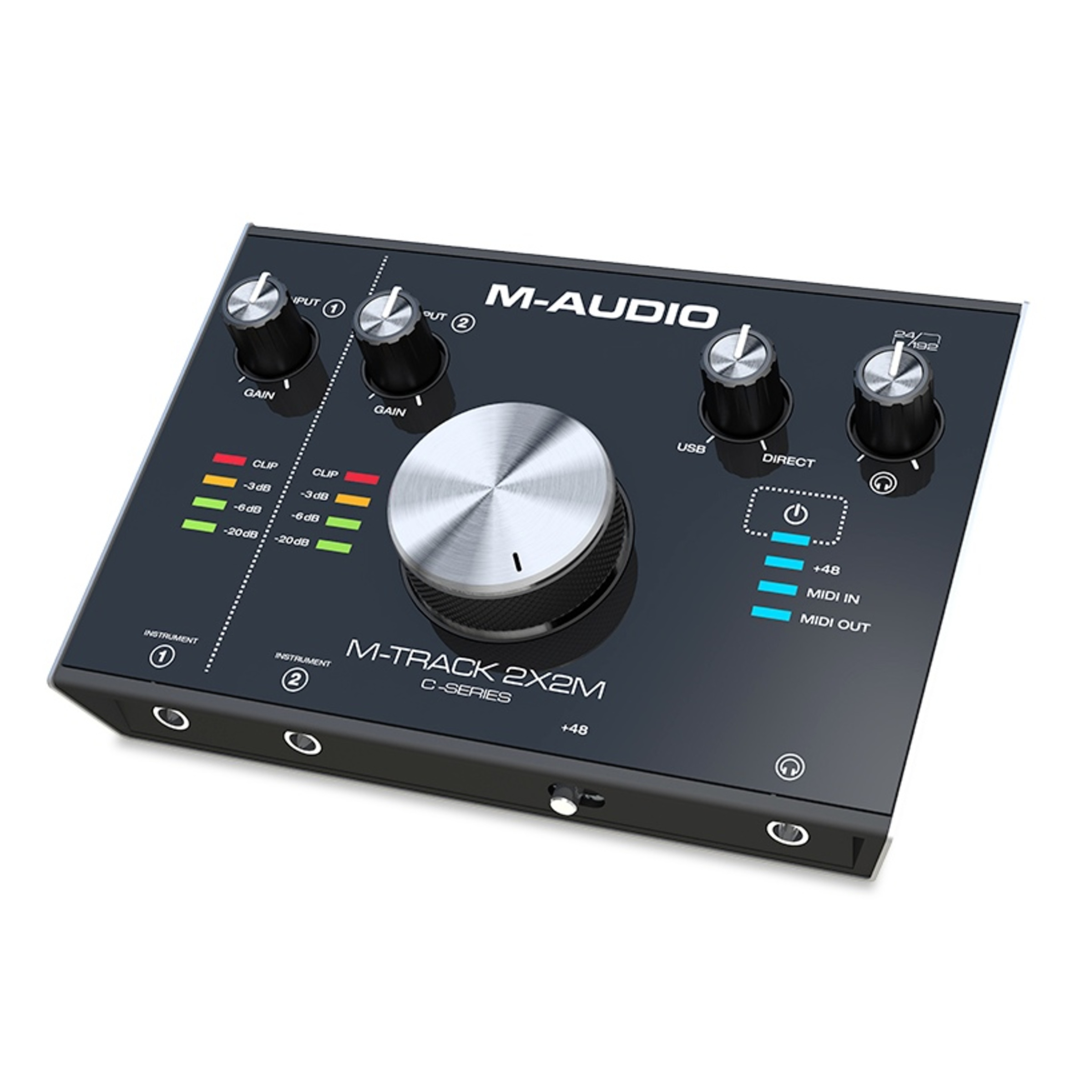 m audio m track 2x2m usb audio interface with midi giggear. Black Bedroom Furniture Sets. Home Design Ideas