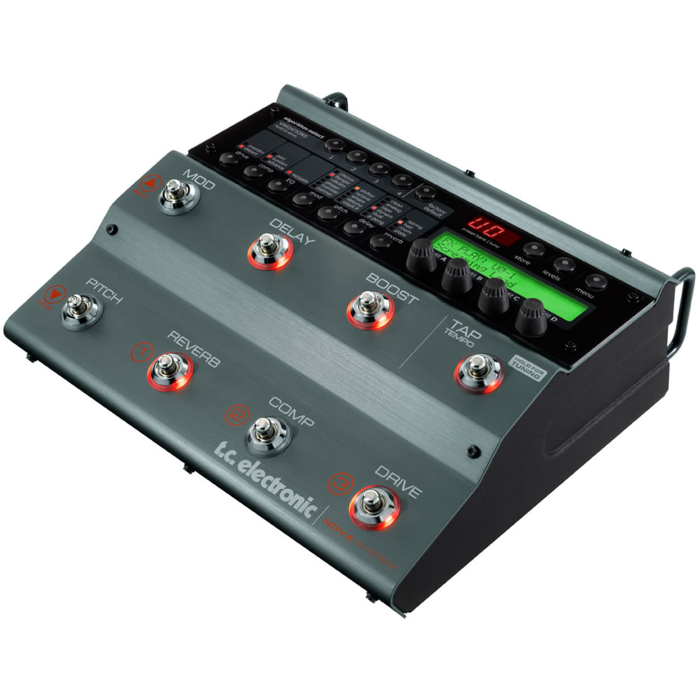 tc electronic nova system guitar multi effects pedal giggear. Black Bedroom Furniture Sets. Home Design Ideas
