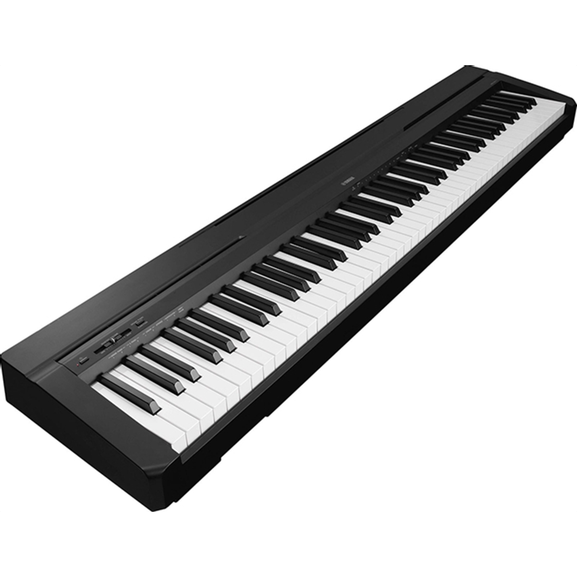 pianos keys yamaha p45 digital piano black giggear