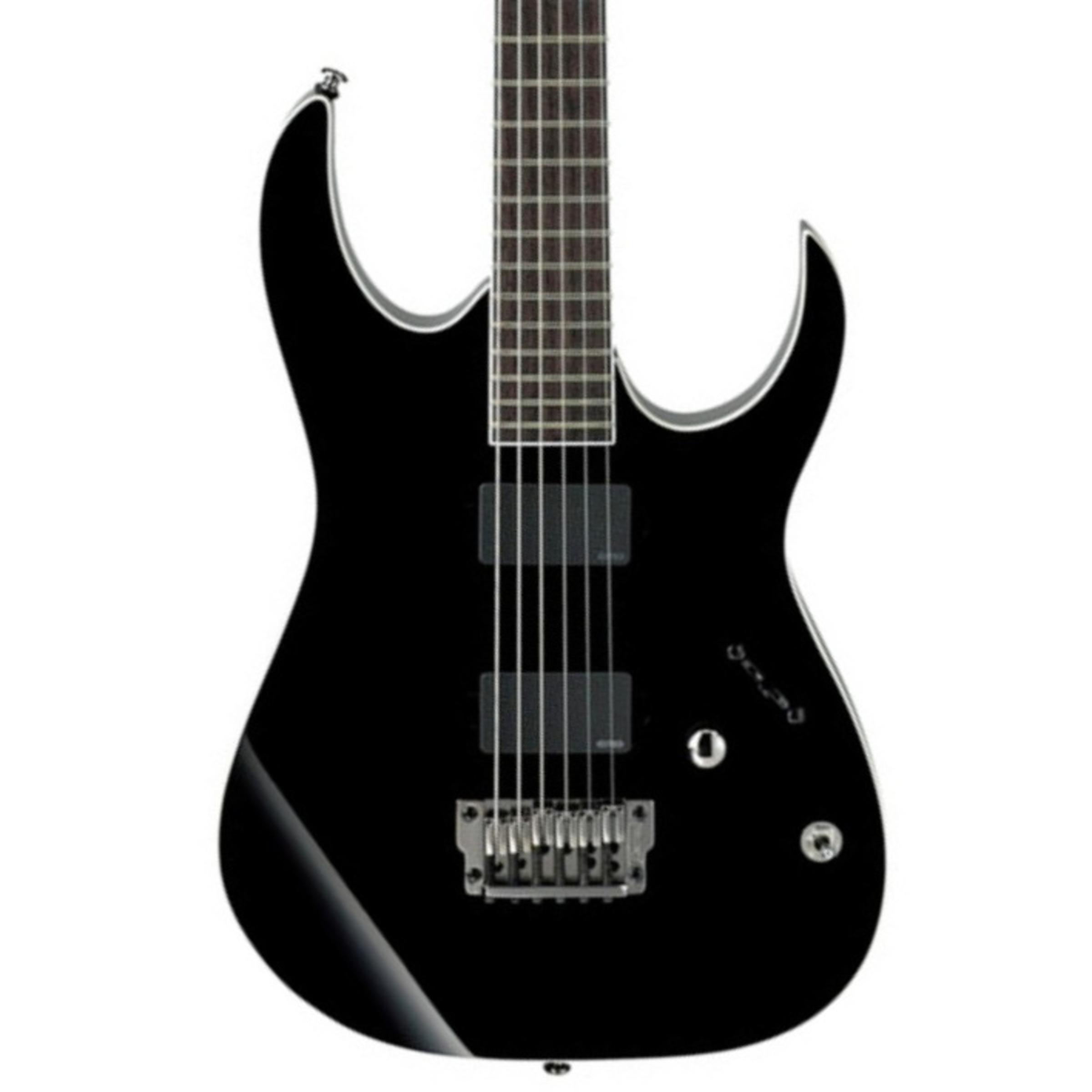 ibanez rgib6 iron label baritone electric guitar black giggear. Black Bedroom Furniture Sets. Home Design Ideas