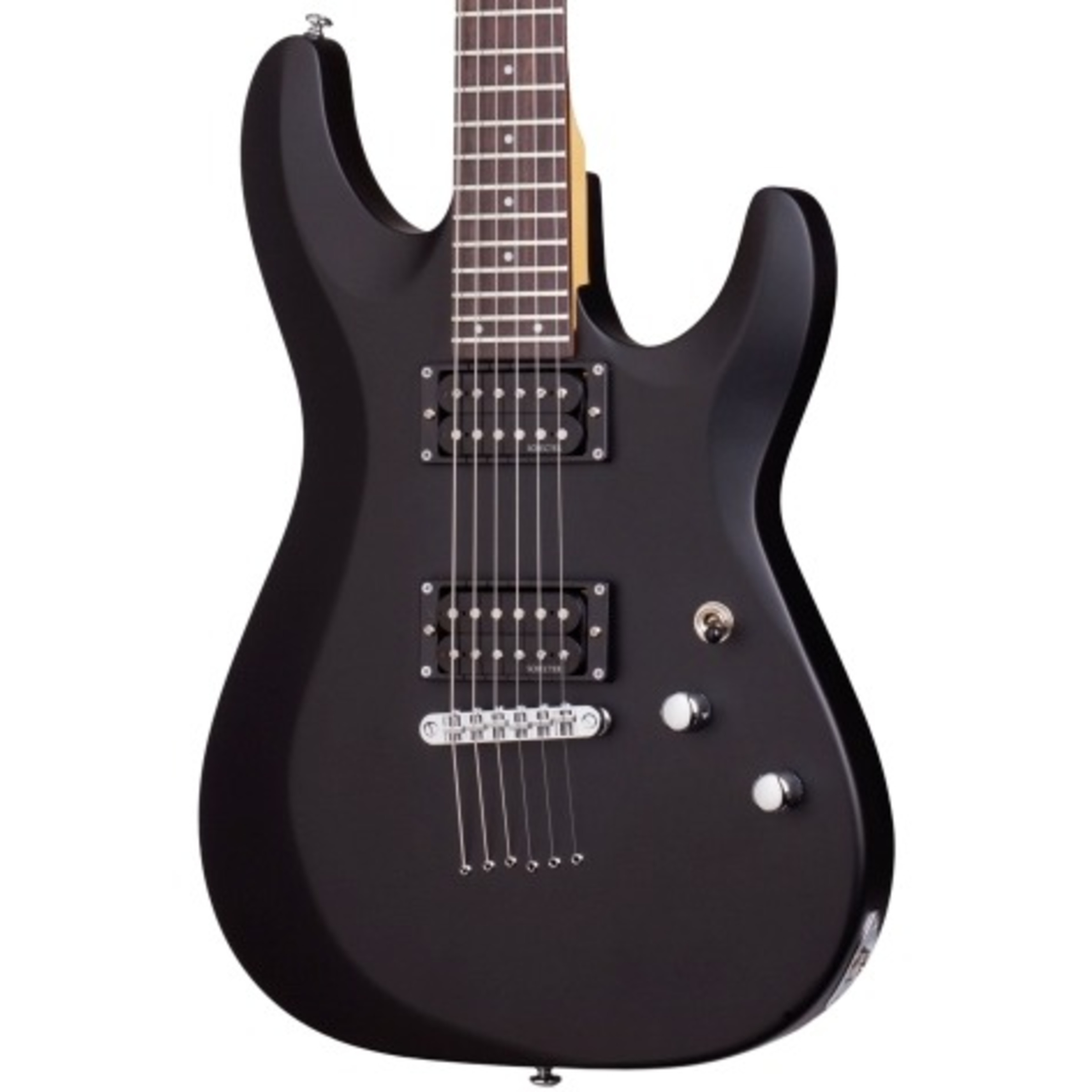 schecter c6 deluxe electric guitar satin black giggear. Black Bedroom Furniture Sets. Home Design Ideas
