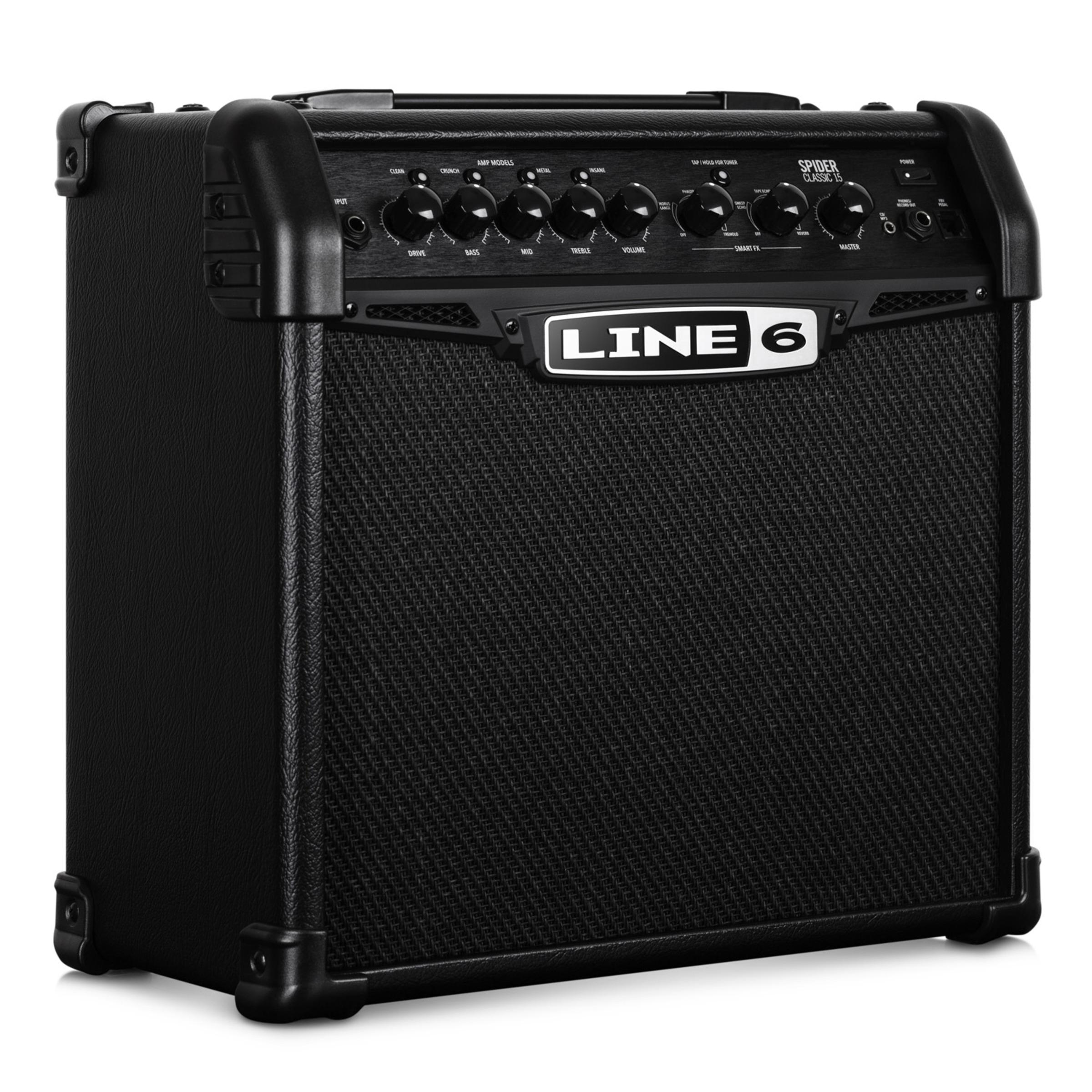 line 6 spider classic 15 15w guitar amp giggear. Black Bedroom Furniture Sets. Home Design Ideas