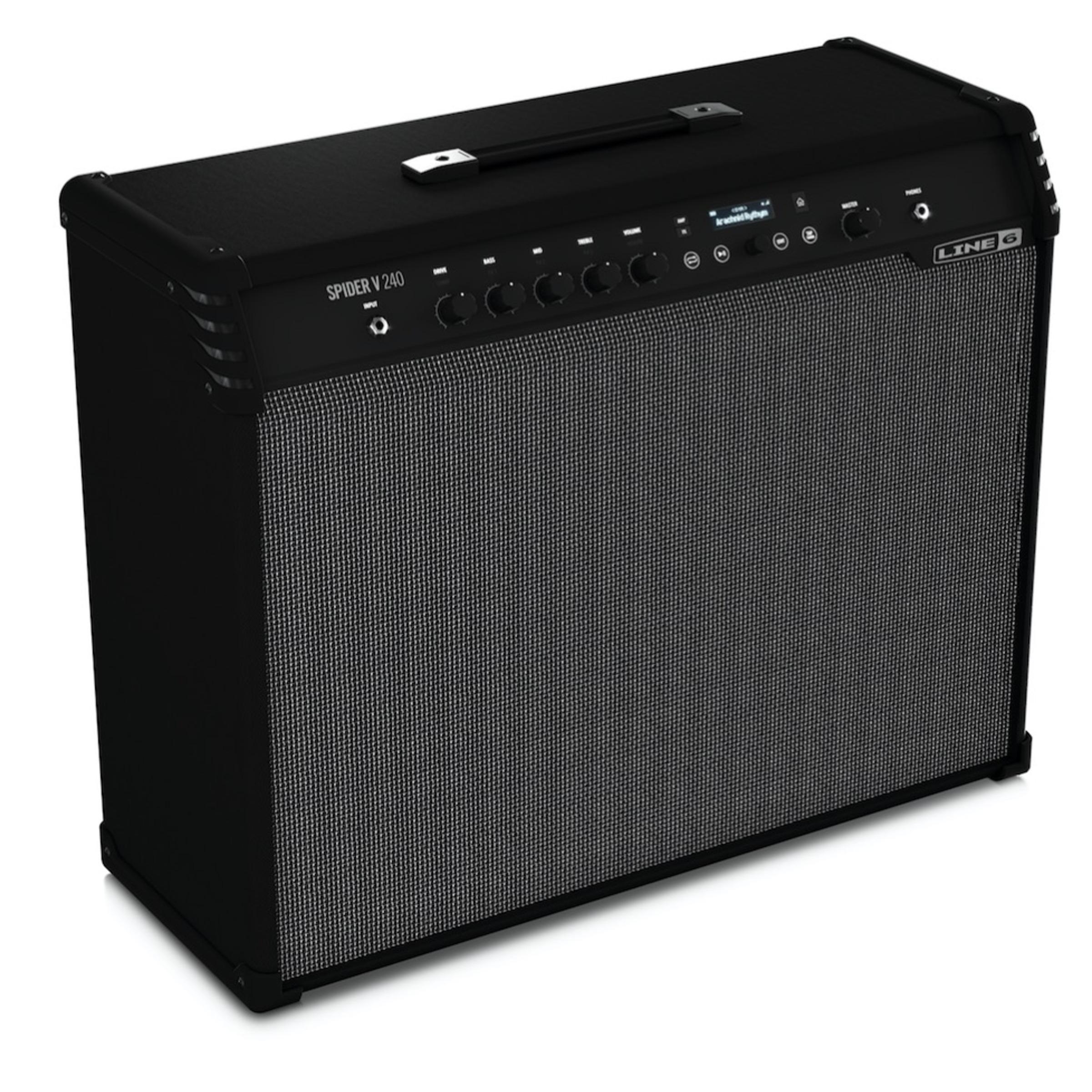 line 6 spider v 240 guitar amp 2x12 240 watt combo giggear. Black Bedroom Furniture Sets. Home Design Ideas