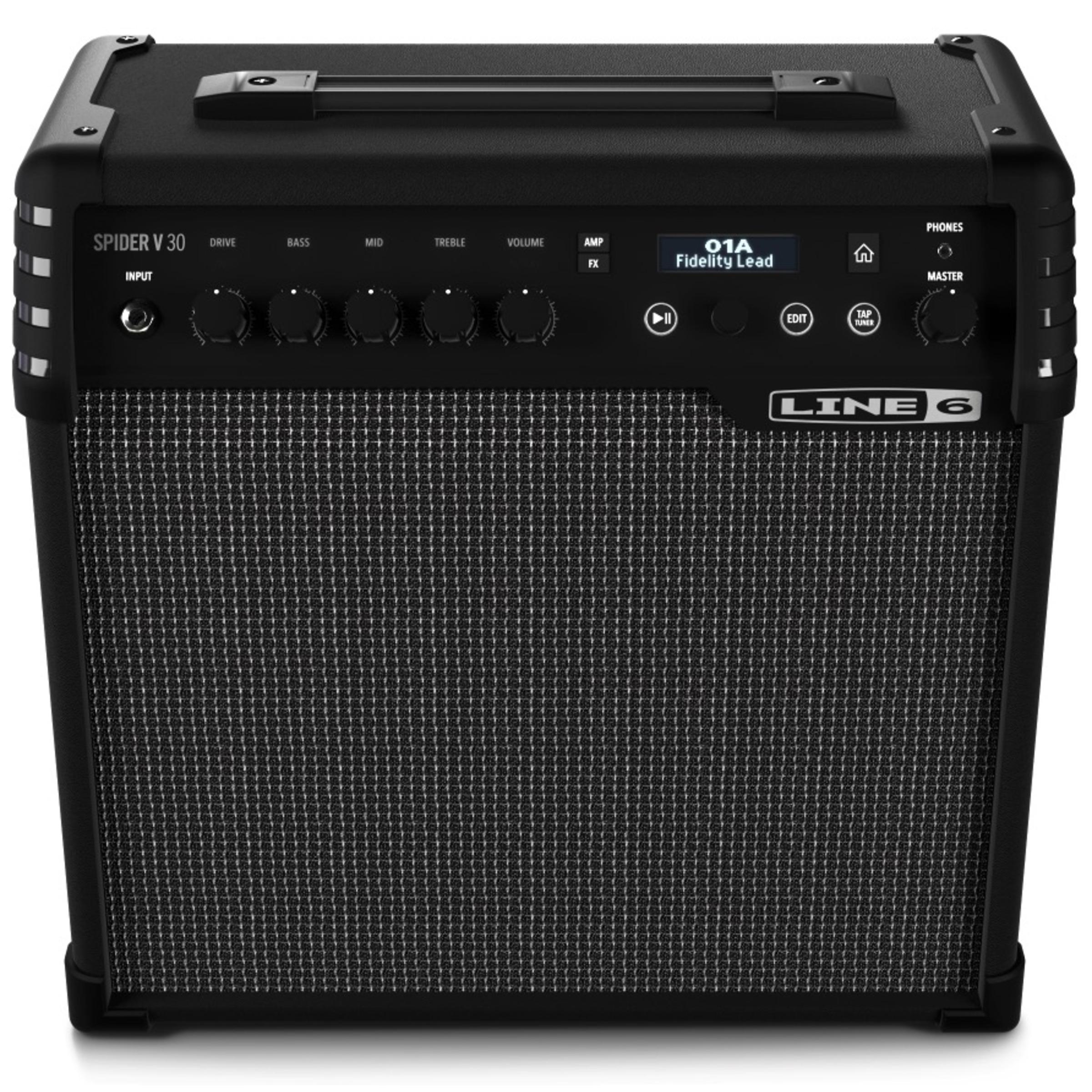 line 6 spider v 30 guitar amp 30 watt combo giggear. Black Bedroom Furniture Sets. Home Design Ideas