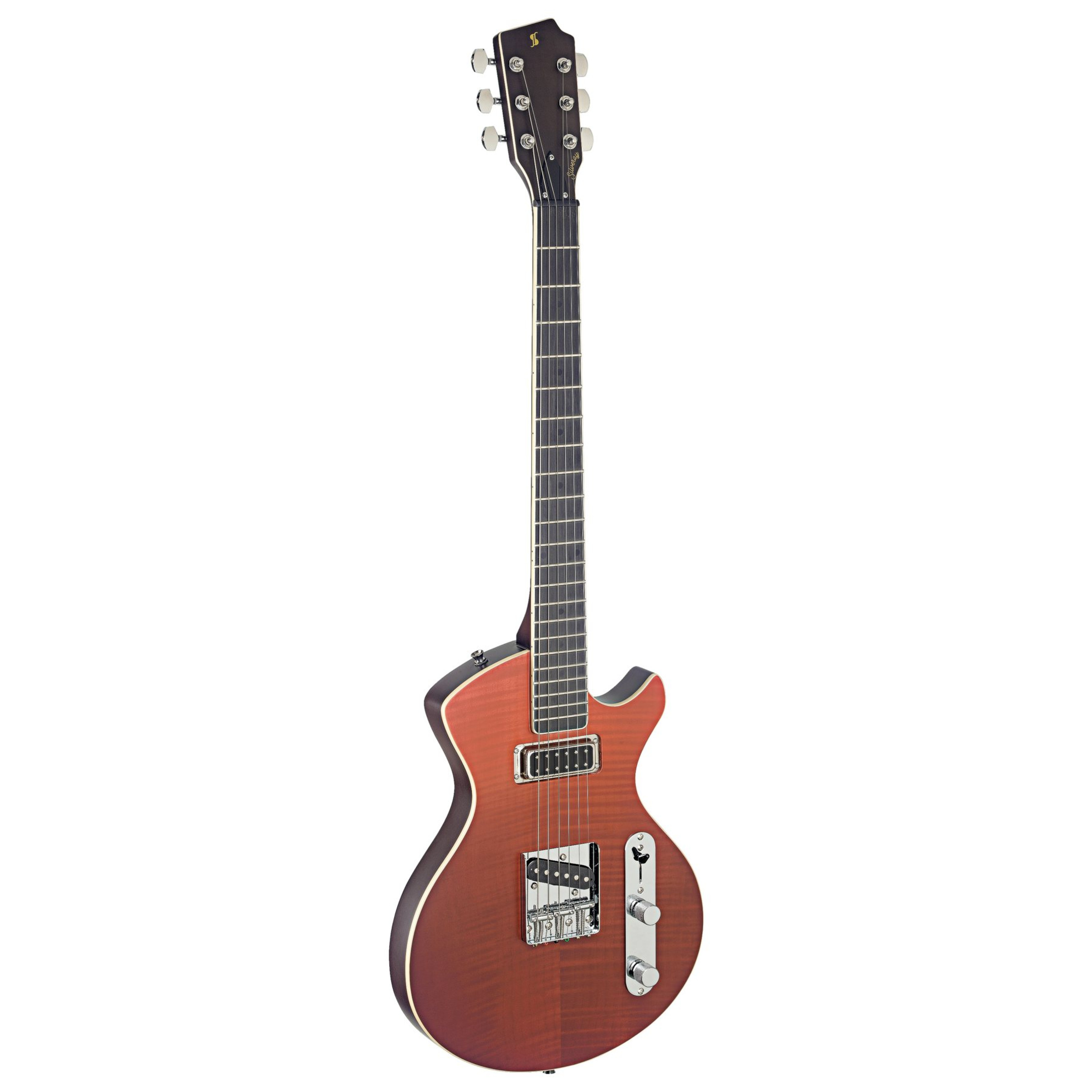 silveray custom deluxe electric guitar shading red hs giggear. Black Bedroom Furniture Sets. Home Design Ideas