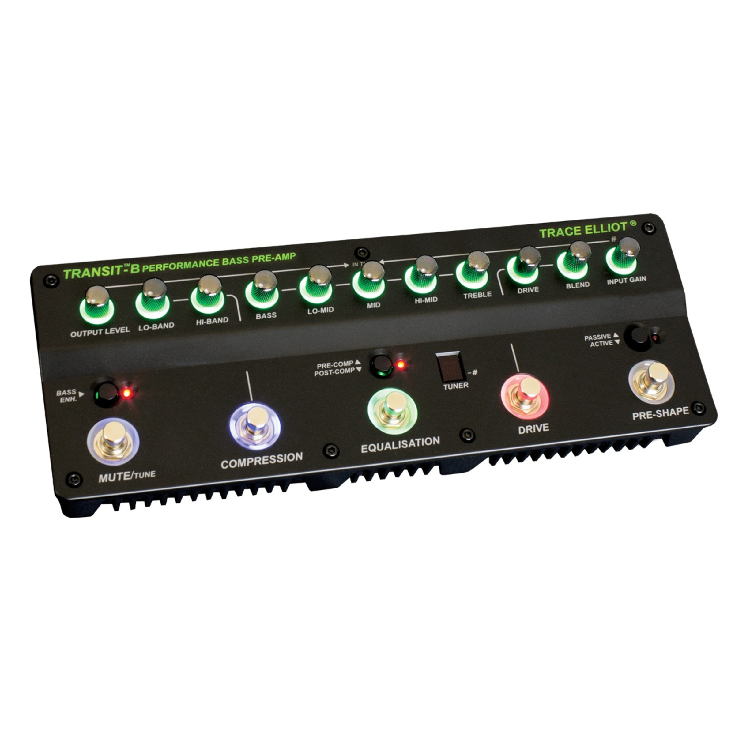 trace elliot transit b bass guitar preamp effects pedal giggear. Black Bedroom Furniture Sets. Home Design Ideas