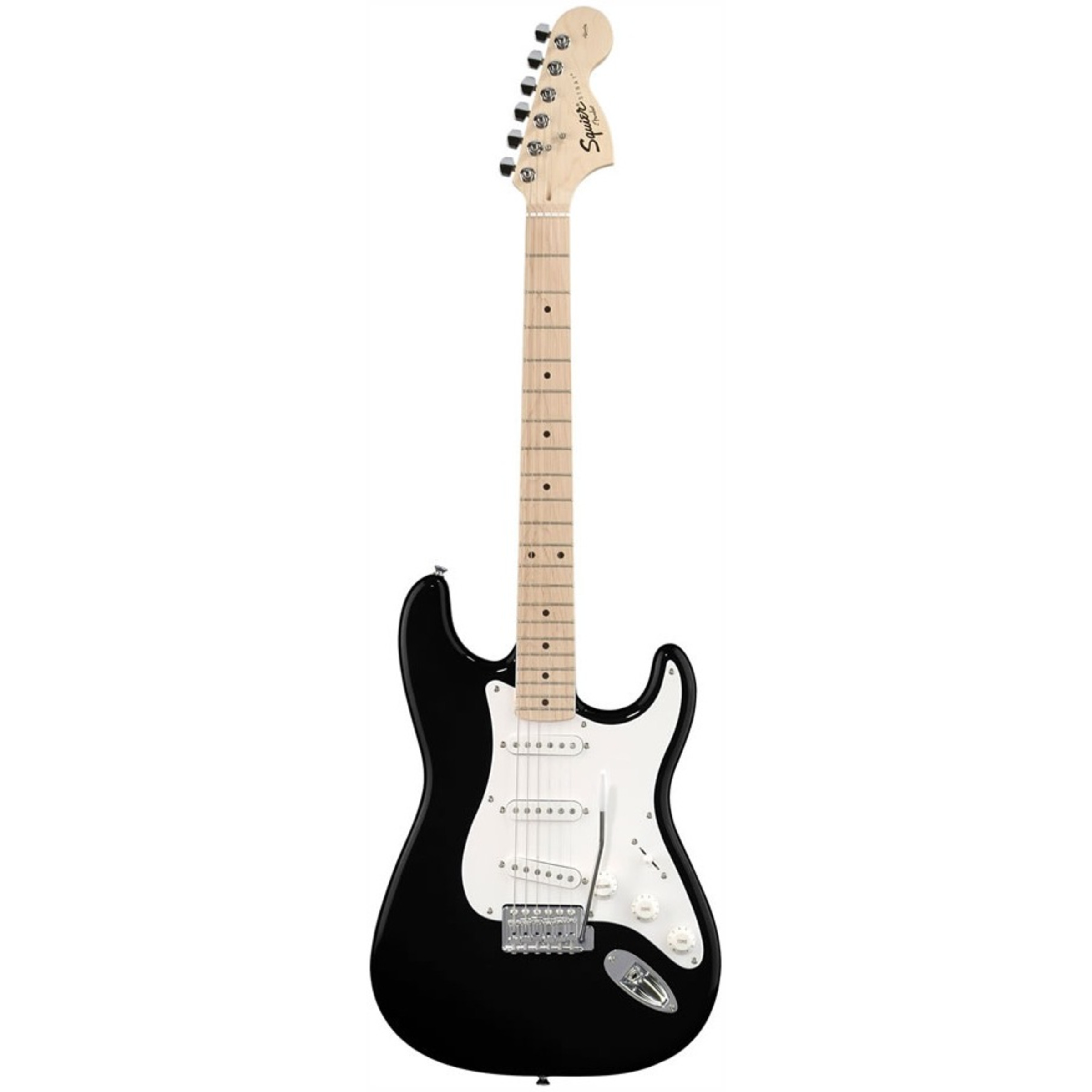 Squier Affinity Strat Electric Guitar, Maple F/board - GigGear