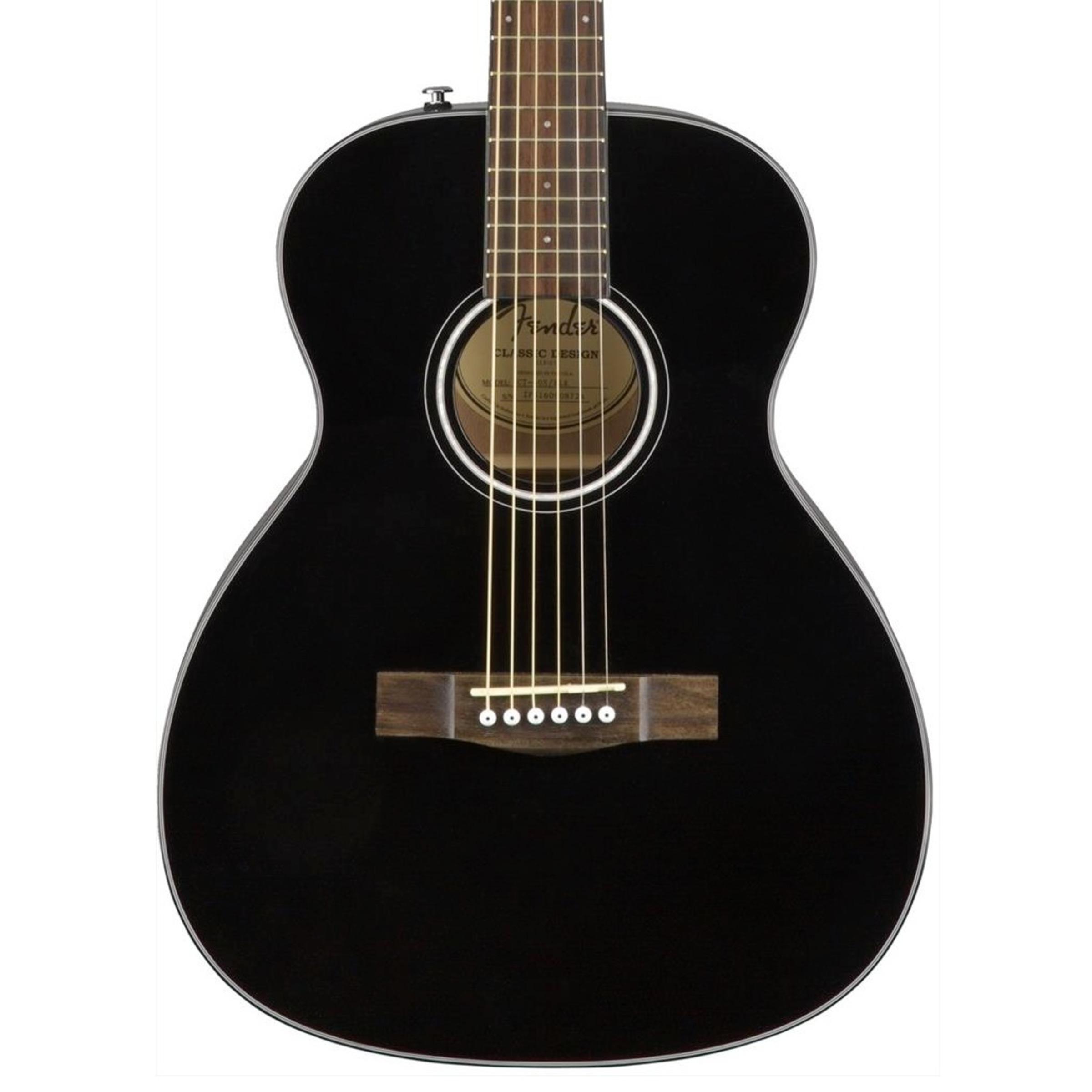 Fender Acoustic Guitars Travel CT-60S BLK