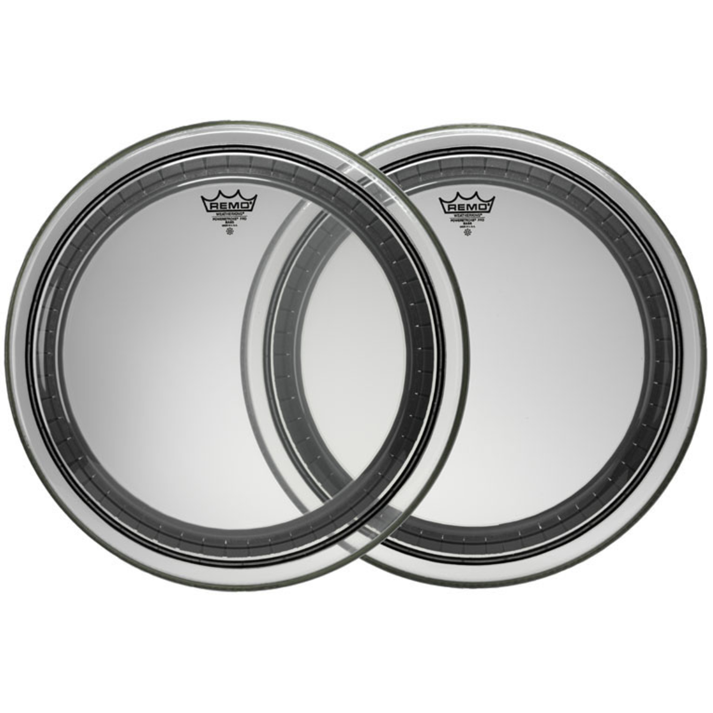 remo powerstroke pro clear bass drum head giggear. Black Bedroom Furniture Sets. Home Design Ideas