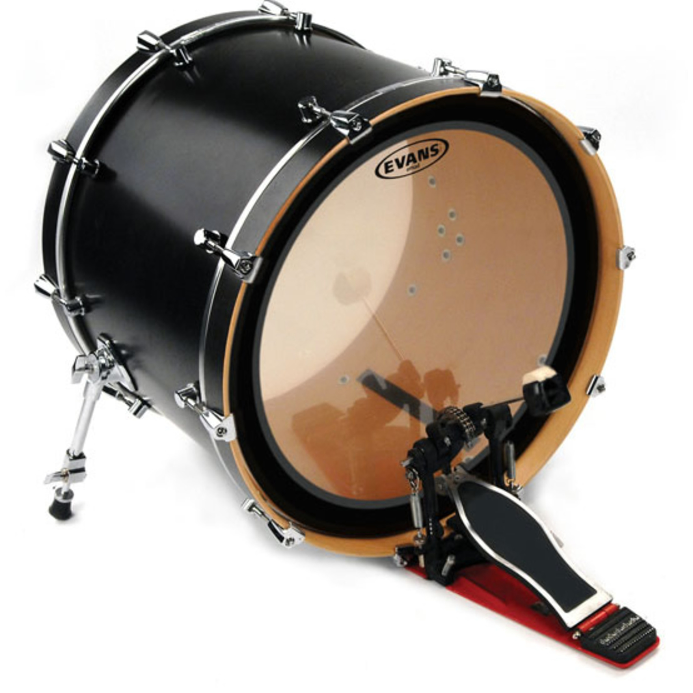 evans gmad clear bass drum batter head giggear. Black Bedroom Furniture Sets. Home Design Ideas