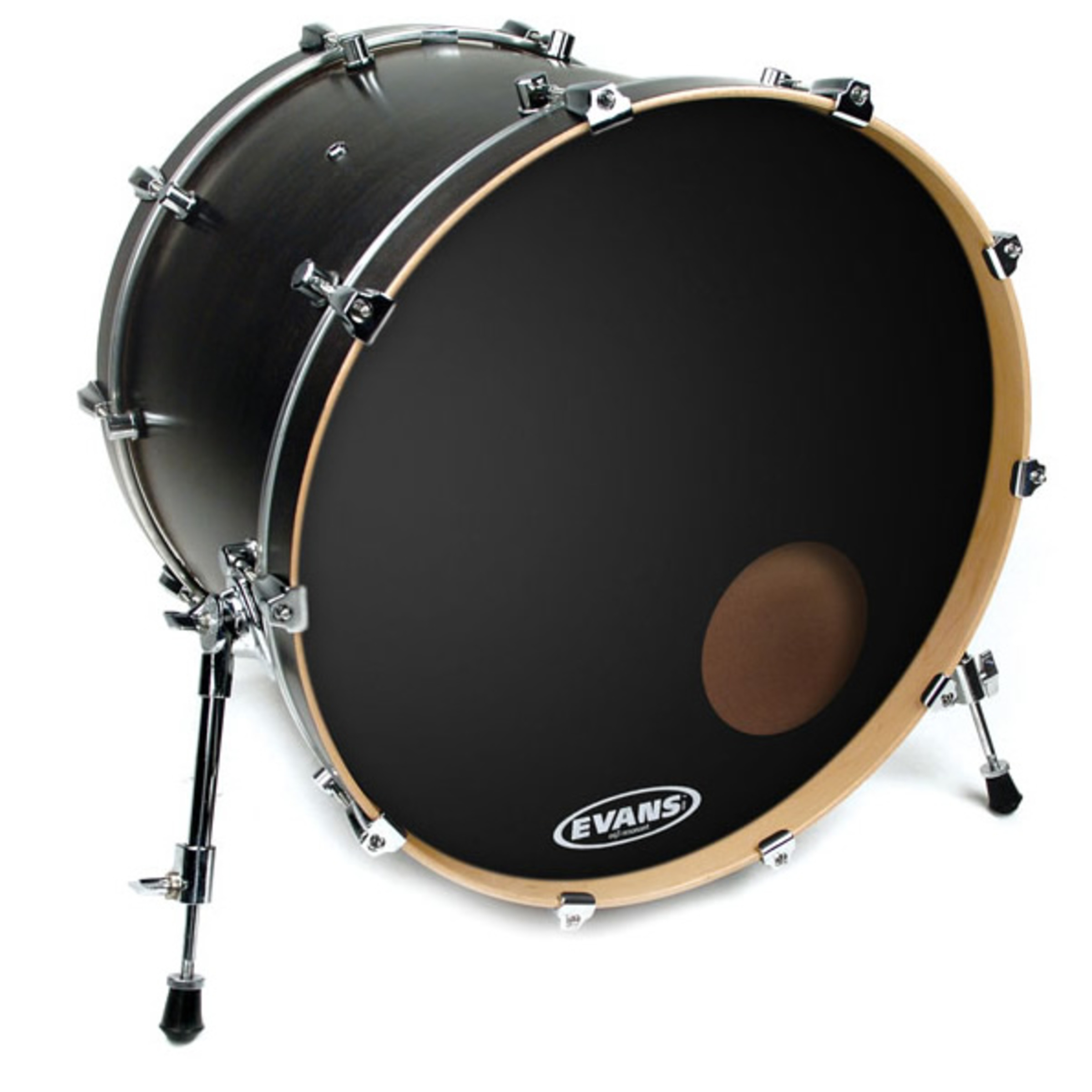 evans eq3 resonant onyx bass drum head giggear. Black Bedroom Furniture Sets. Home Design Ideas