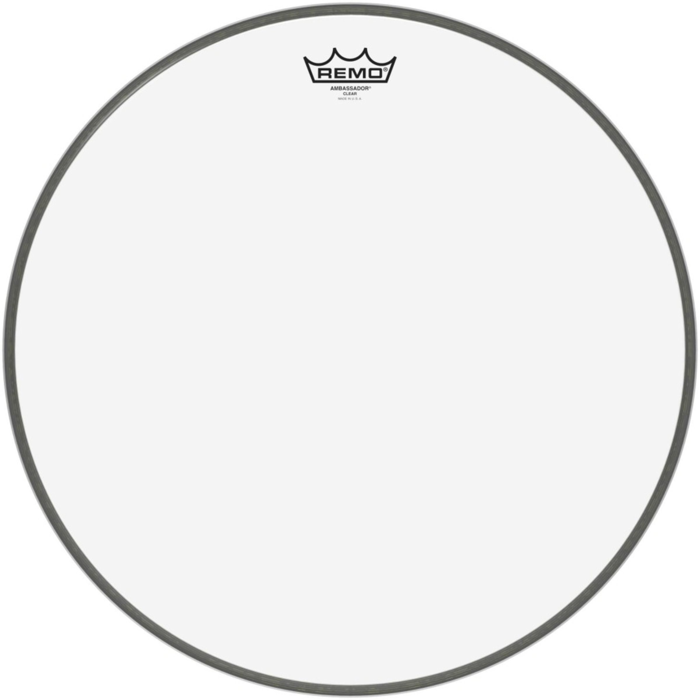 remo ambassador clear bass drum head giggear. Black Bedroom Furniture Sets. Home Design Ideas