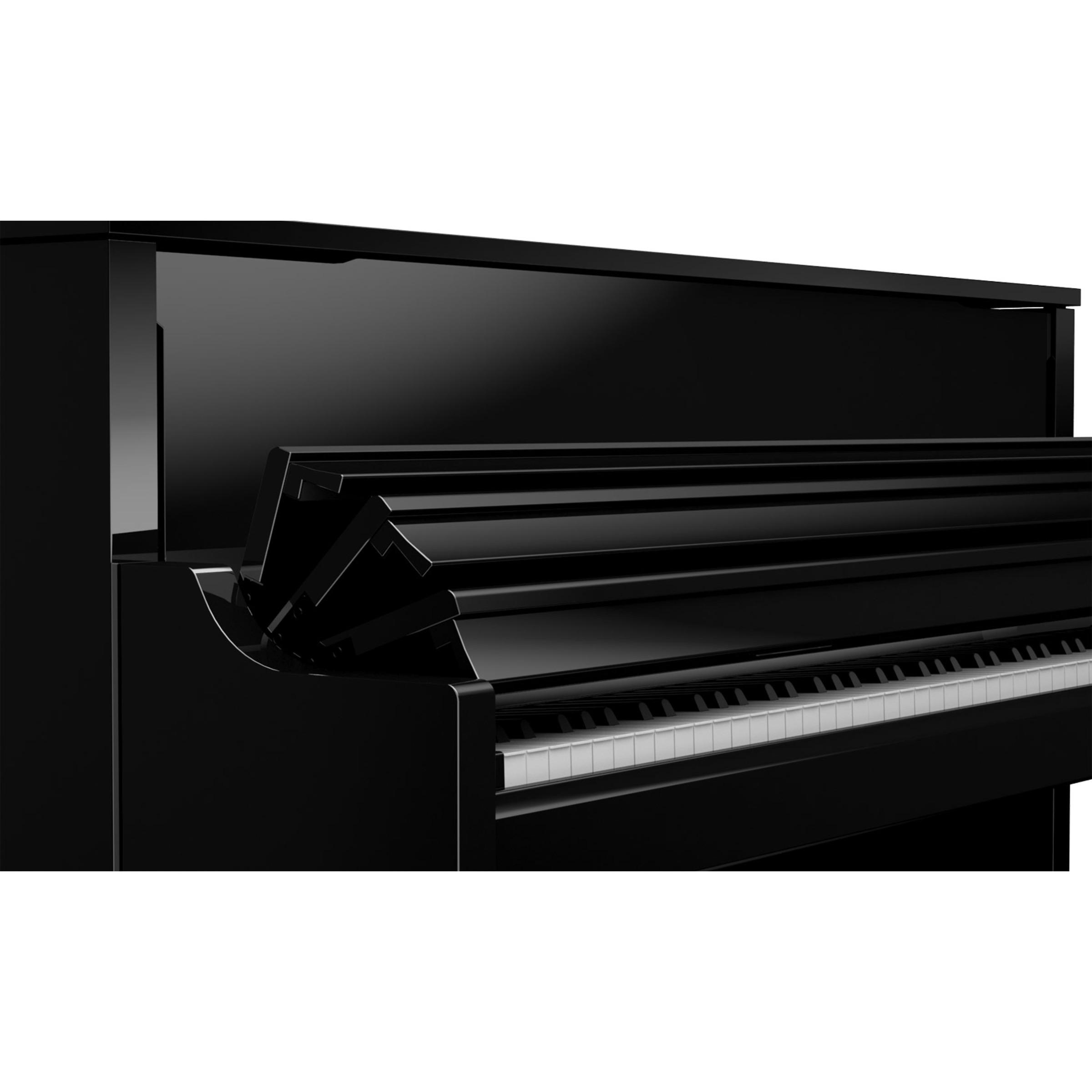 roland lx17 digital piano polished ebony display model giggear. Black Bedroom Furniture Sets. Home Design Ideas