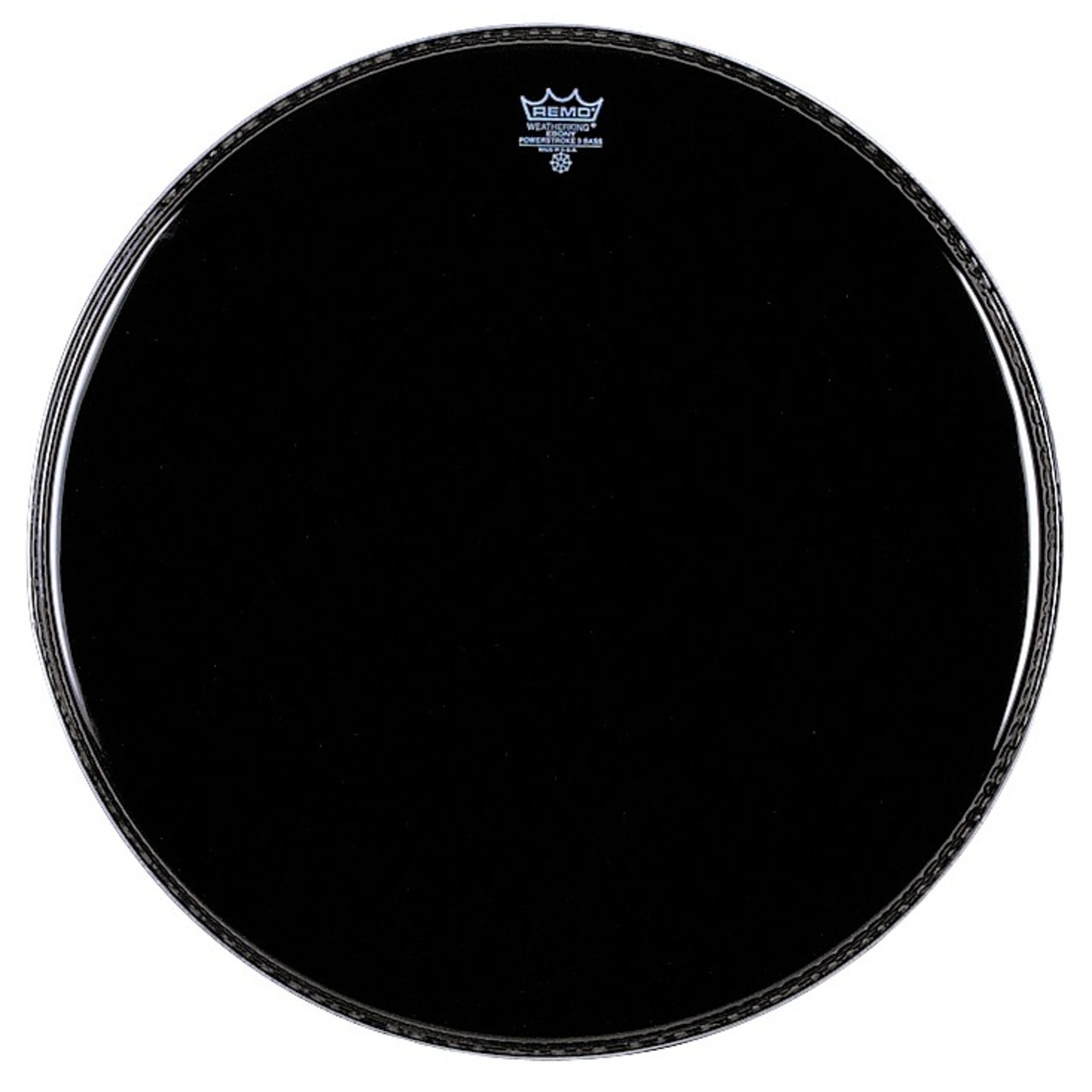 remo powerstroke 3 bass drum ebony giggear. Black Bedroom Furniture Sets. Home Design Ideas