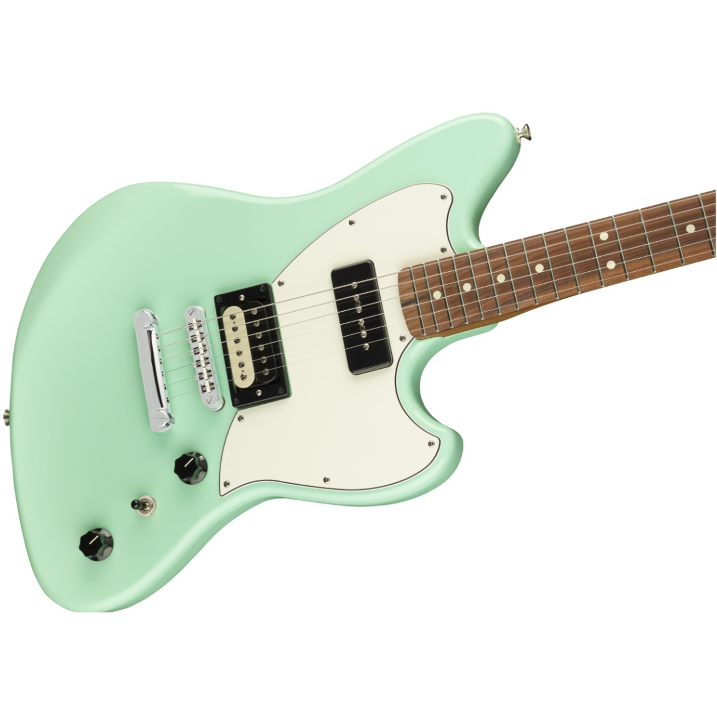 fender limited edition powercaster electric guitar surf green giggear. Black Bedroom Furniture Sets. Home Design Ideas