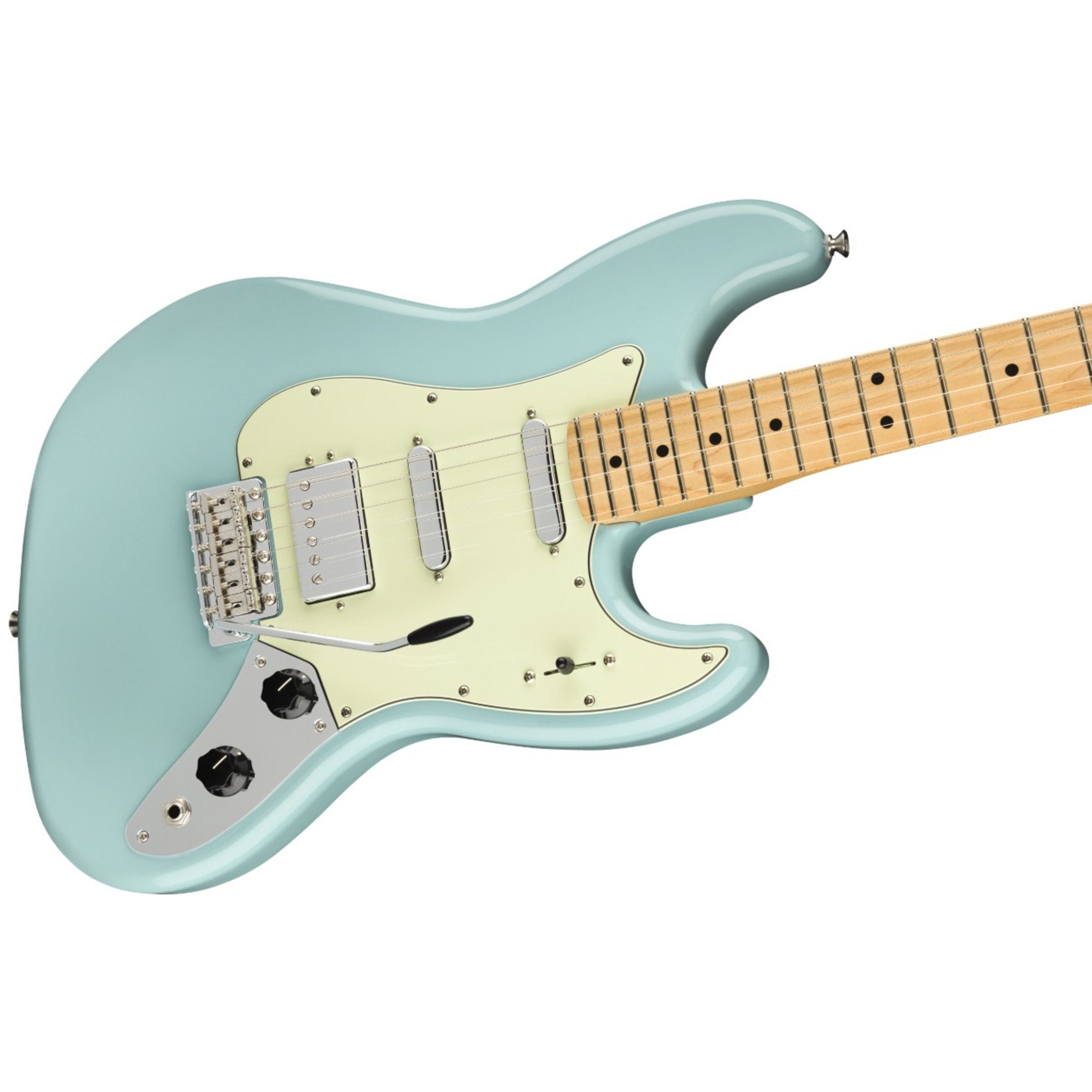 fender limited edition sixty six electric guitar daphne blue giggear. Black Bedroom Furniture Sets. Home Design Ideas