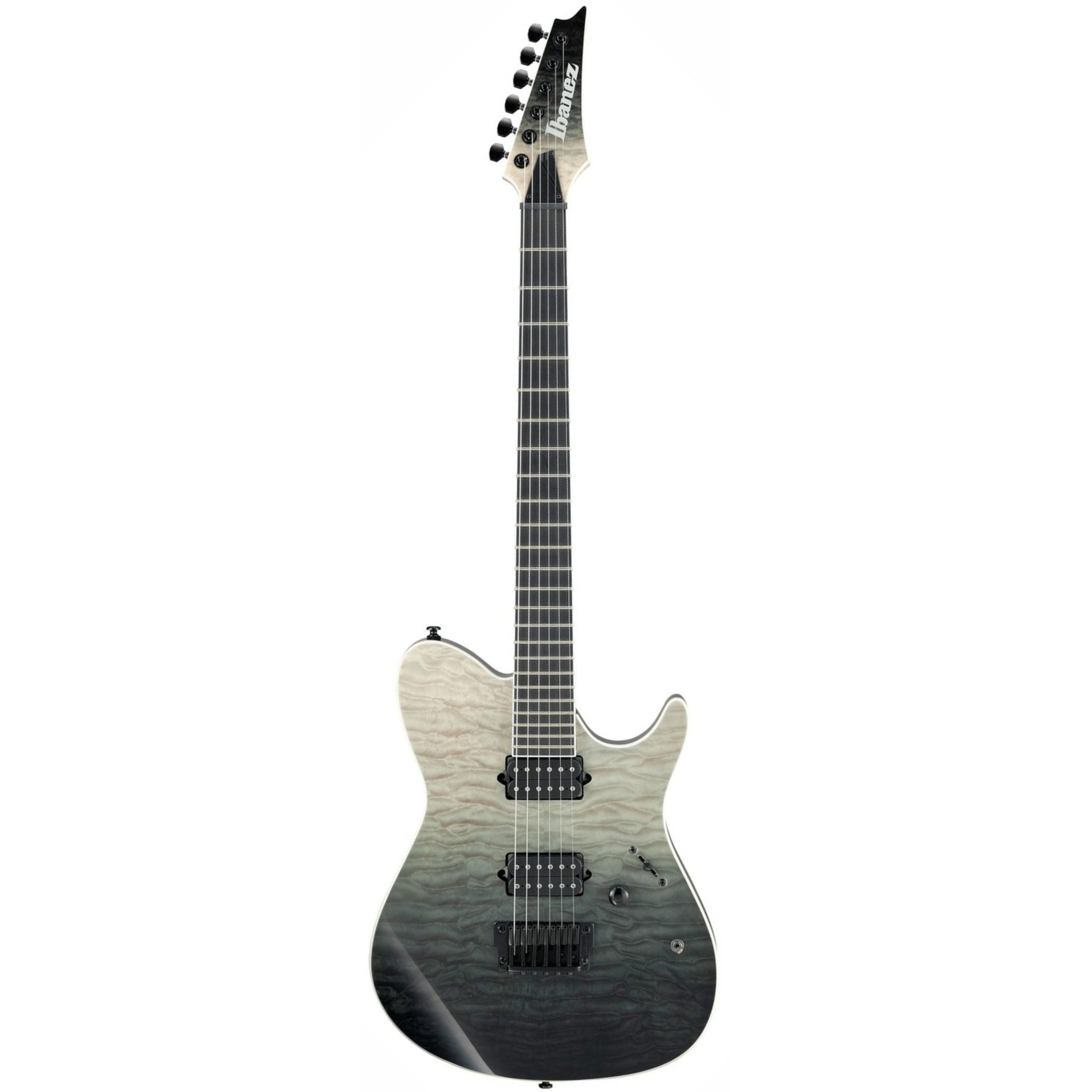 ibanez frix6fdqm iron label electric guitar black mirage gradation giggear. Black Bedroom Furniture Sets. Home Design Ideas