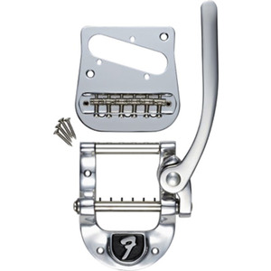 Fender Bigsby B5 Tremolo with Fender Logo - To Fit Tele
