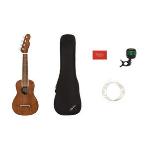 Fender Seaside Soprano Ukulele Package