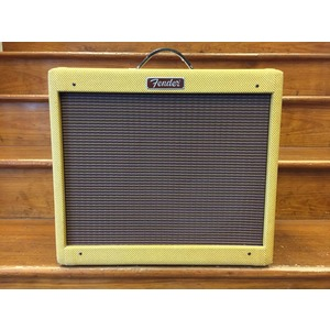 SECONDHAND Fender Blues Junior Lacquered Tweed Jensen Speaker and Cover