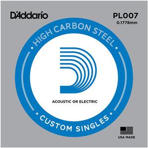 D'addario Plain Steel Single String - Electric / Acoustic