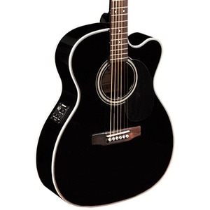 Sigma 000MC-1STEBK+ Electro Acoustic Guitar - Black