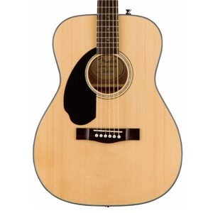 Fender CC60S LEFT HANDED Solid Top Concert Acoustic Guitar - Natural