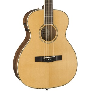 Fender Paramount PM-TE Standard Travel Guitar - All Solid / Spruce Top