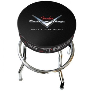 "Fender Barstool 24"" - Custom Shop Pinstripe"