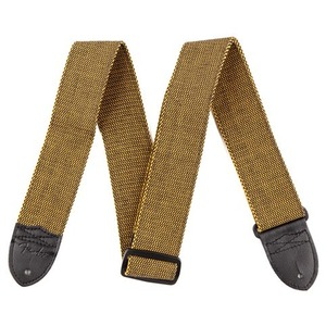 Fender F Tweed Guitar Strap - Gold/Black