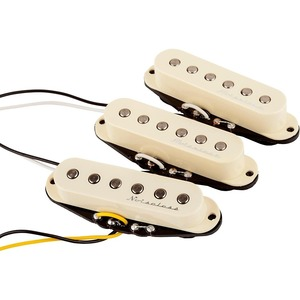 Fender Hot Noiseless Pick Up 3 Set - Strat - Aged White