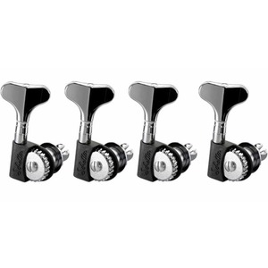 Schaller Bass Machine Head Set BM Lightweight Chrome - 4 In-Line