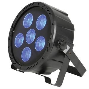 Qtx LED Flat Par Can - 6x30 Watt