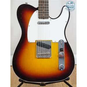 Fender Custom Shop 1963 Journeyman Relic Tele Custom - Chocolate 3 Colour Sunburst / Rosewood