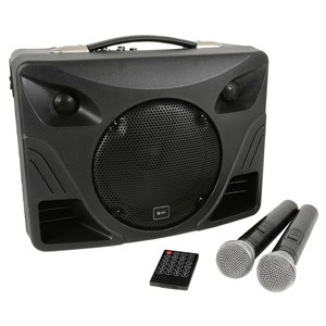 Qtx Delta DT 50 Portable Desktop PA with Wireless Mic