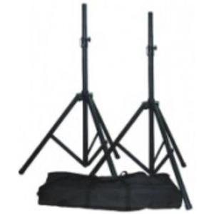 Qtx Speaker Stands with Bag - Pair