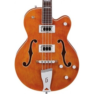 Gretsch G5440LSB Hollow Body Bass - Orange
