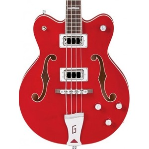 Gretsch G5442BDC Short Scale Bass - Trans Red