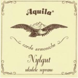 Aquila Nylgut Ukulele String Set - Soprano Low G Tuning