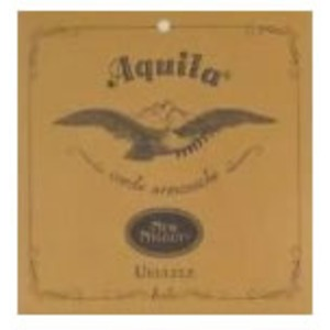 Aquila Nylgut Ukulele String Set - Baritone DGBE Tuning with 2 Wound Strings