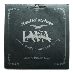 Aquila Lava Concert Ukulele String Set - Black